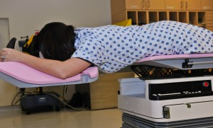 Prone position proves effective in breast cancer radiation therapy